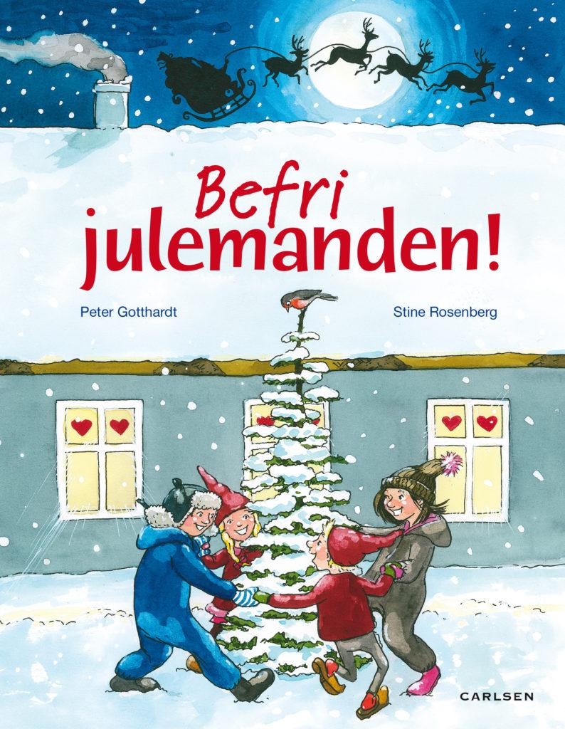 Befri julemanden, Peter Gotthardt, Julekalenderbog, julekalenderbøger