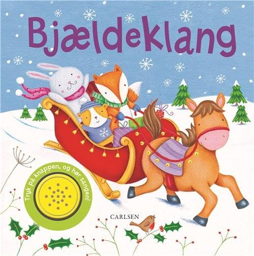 Bjældeklang, sjov med lyd, papbog, papbæger, julepapbog, julepapbøger