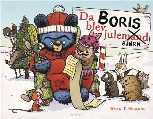 Ryan T. HIggins, Da Boris blev julebjørn, julebog, julebøger
