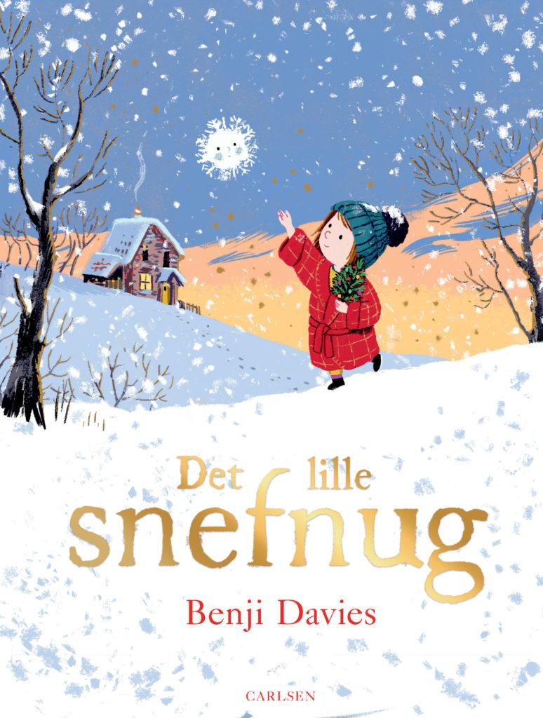 Benji Davies, Det lille snefnug, børnebog, julehistorie,