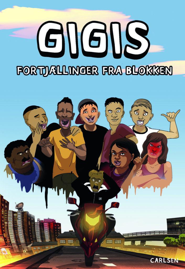 Gigis, Fortjællinger fra blokken, børnebog, børnebøger