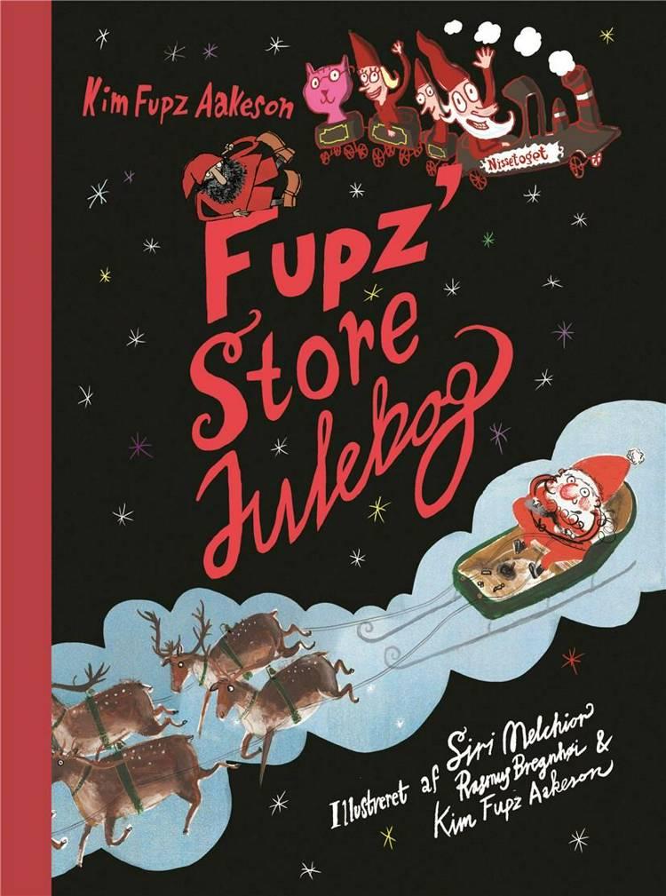 Fupz' store julebog, julebog, julebøger, højtlæsning, Kim Fupz