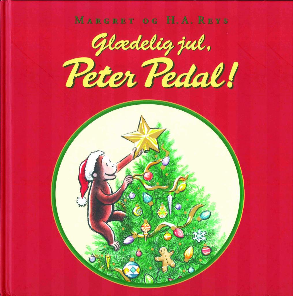 Peter Pedal, Glædelig jul Peter Pedal, julebog, julebøger