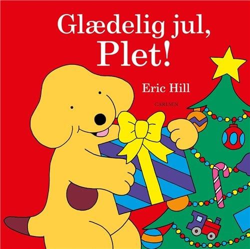 Glædelig jul plet, plet, hunden plet, hundehvalpen plet, julebog, julebøger