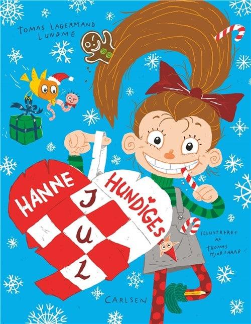 Hanne Hundige, Hanne Hundiges jul, julekalenderbog, julebog, julekalenderbøger, julebøger