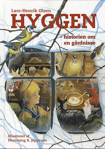 Hyggen, historien om en gårdnisse, julekalenderbog, julekalenderbøger