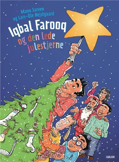 Iqbal Farooq, den lede julestjerne, Manu Sareen, julebog, julebøger