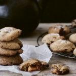 Karamelcookies med brunet smør. Det bliver ikke bedre