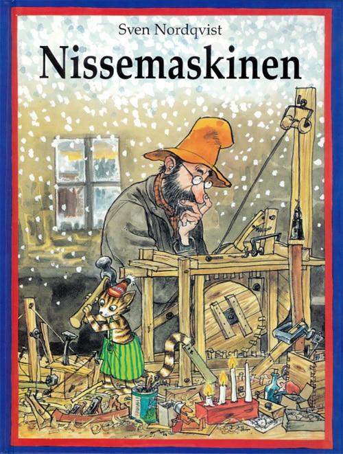 Nissemaskinen, Sven Nordqvist, Findus, Peddersen, julebog, nissebog,