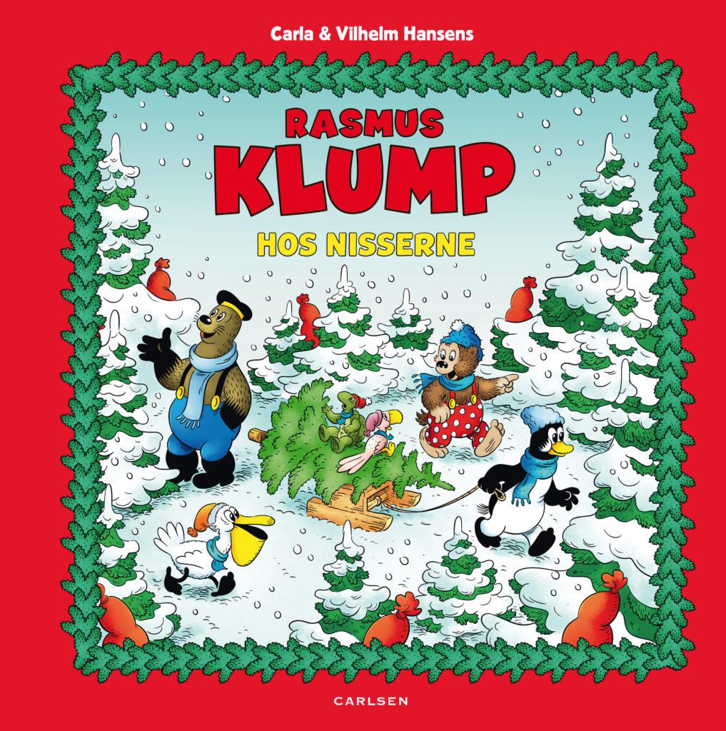 Rasmus Klump, Rasmus Klump hos nisserne, Rasmus Klump og nisserne, julebog, julebøger