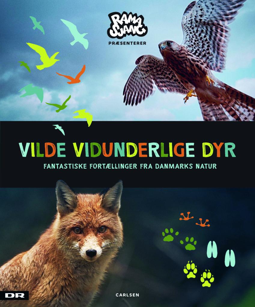 Vilde vidunderlige dyr, danske dyr, børnebog om dyr