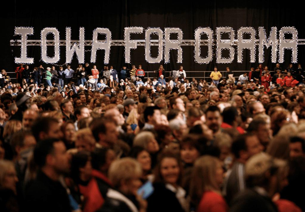 Obama, Barack Obama, Et forjættet land