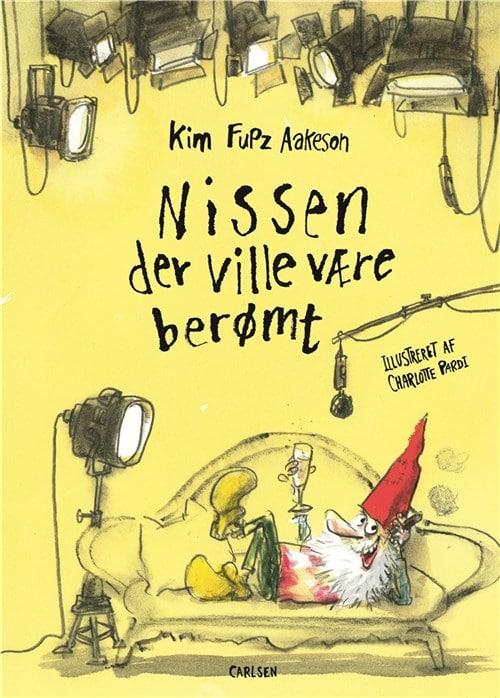 Nissen der ville være berømt, Kim Fupz Aakeson, Kim Fupz, Charlotte Pardi, julebog, julebøger,