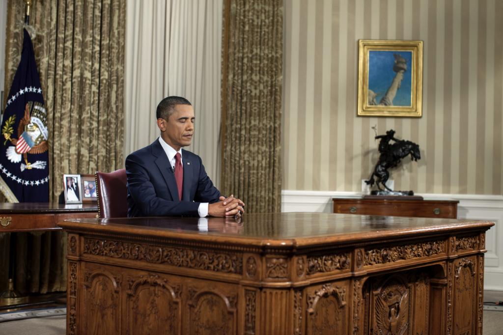 Barack Obama, Obama, Et forjættet land