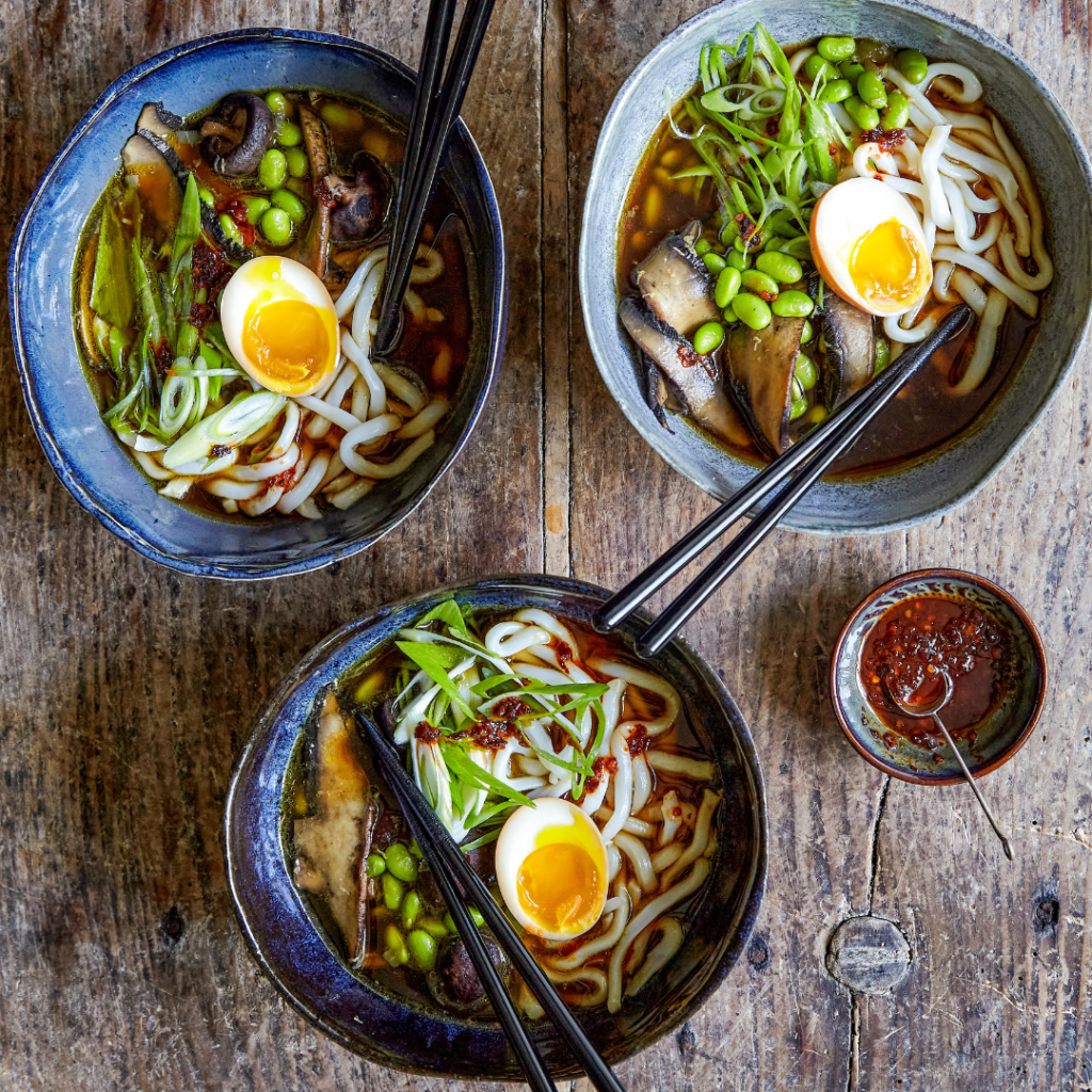 One pot ramen, Grøn mad på 30 minutter, Louisa Lorang