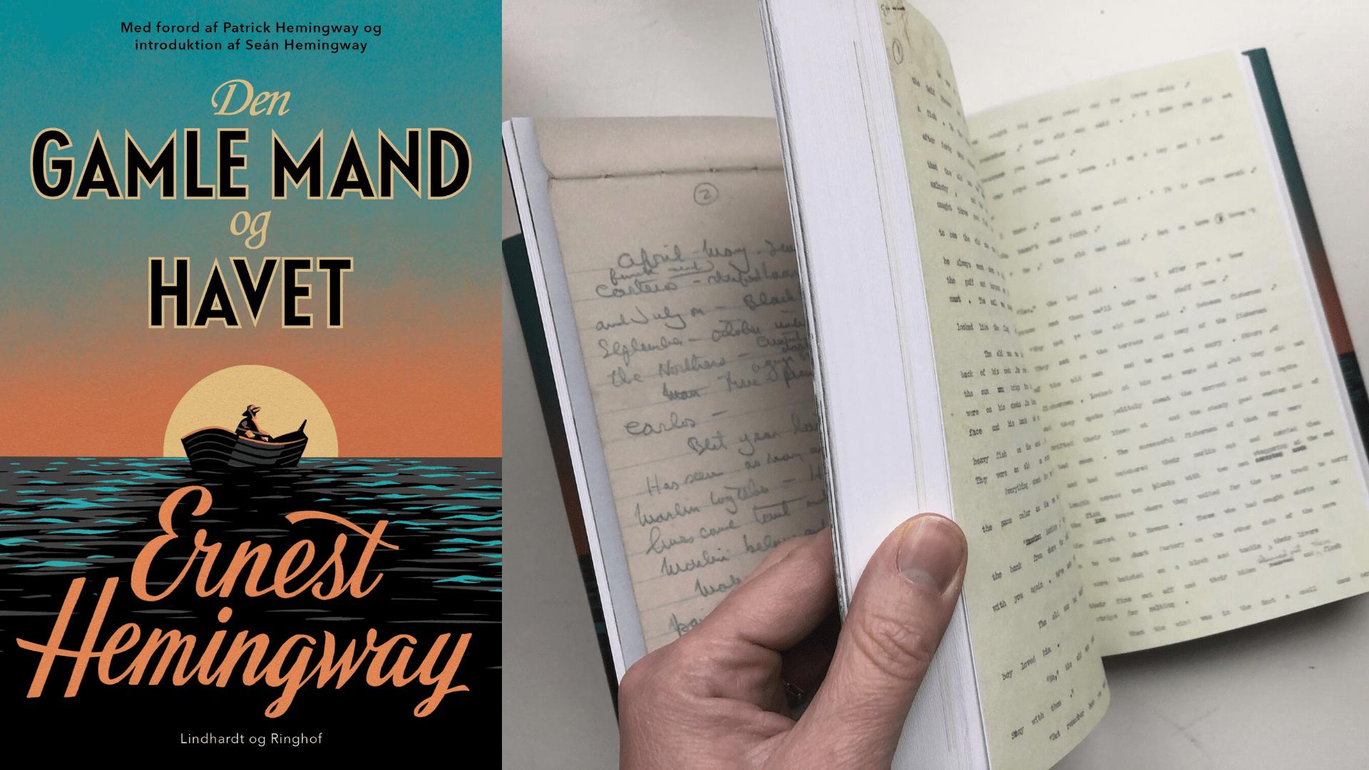 Hemingway, Ernest Hemingway, Den gamle mand og havet, KLassikere, Læs klassikere, Nobelpris