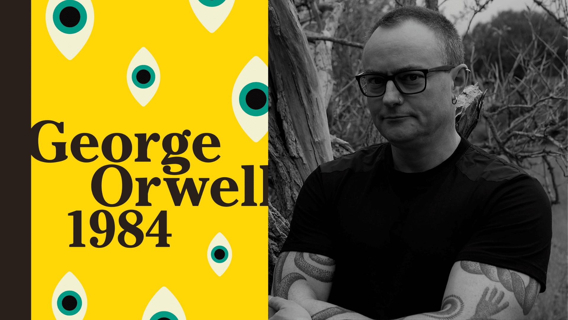 1984, Georgre Orwell, Rasmus Hastrup, Dystopi, Klassiker, Big brother