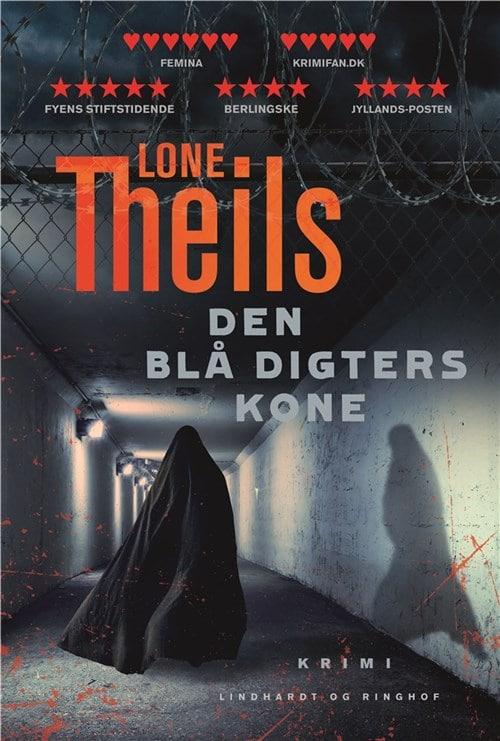 Den blå digters kone, Lone Theils, krimi, dansk krimi, Nora Sand, Nora Sand-serie