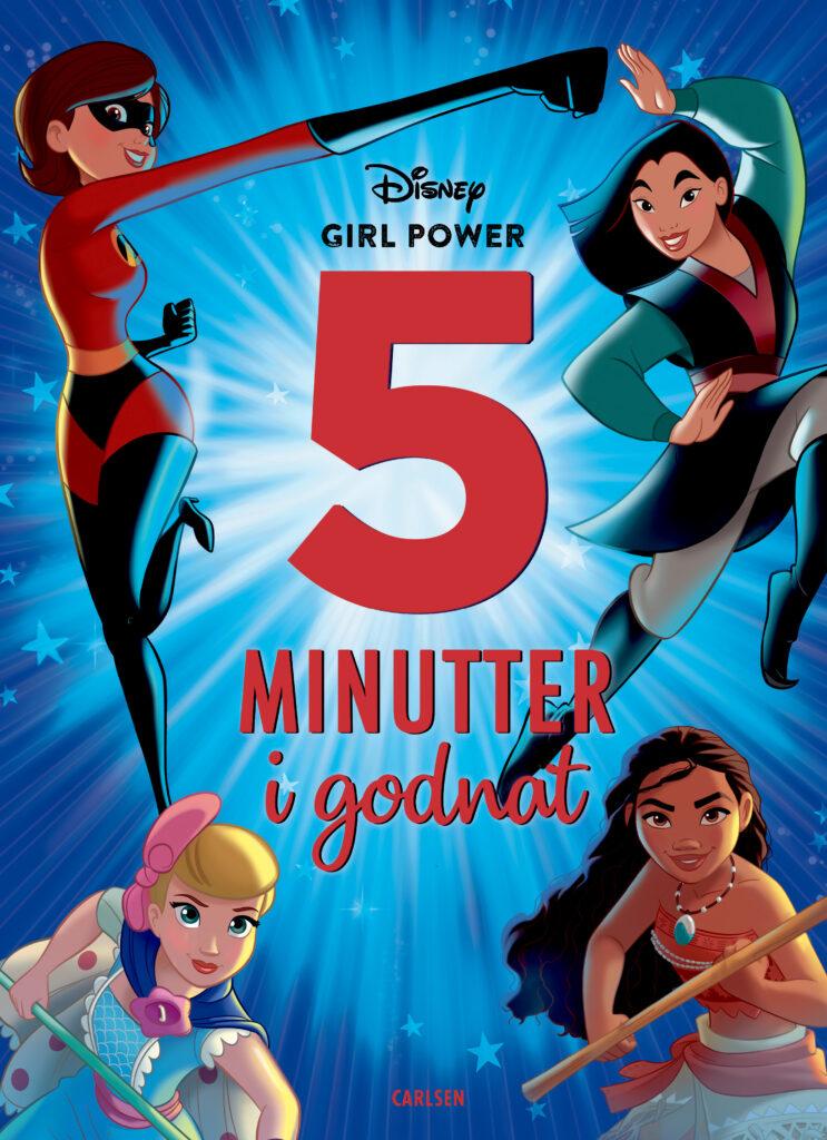 Fem minutter i godnat, Disney girlpower, godnathistorier, godnathistorie