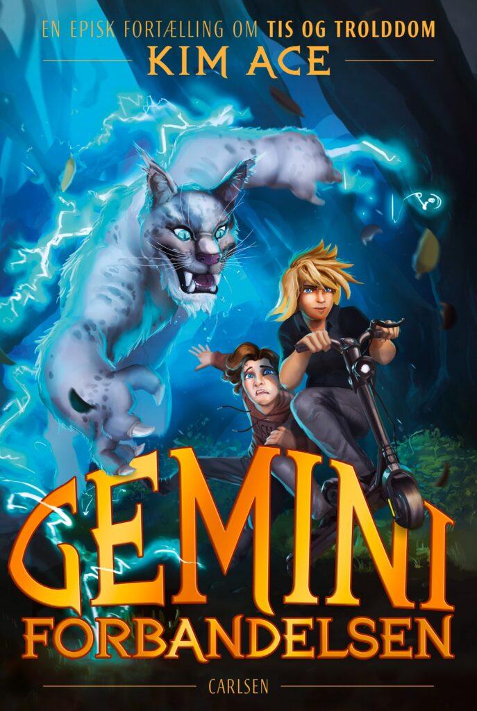 Geminiforbandelsen, kim ace, fantasy, sjove bøger