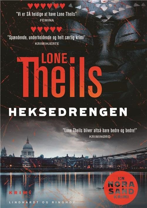 Heksedrengen, Lone Theils, krimi, dansk krimi, Nora Sand, Nora Sand-serie