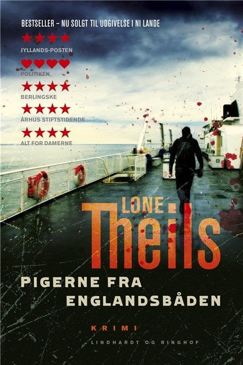 Pigerne fra Englandsbåden, Lone Theils, krimi, dansk krimi, Nora Sand, Nora Sand-serie