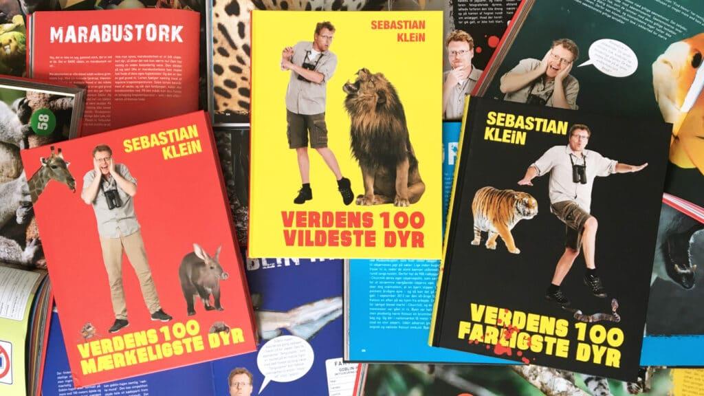 Verdens 100, Verdens 100 vildeste dyr, verdens 100 klammeste dyr, verdens 100 mærkeligste dyr, verdens 100 farligste dyr, Sebastian Klein