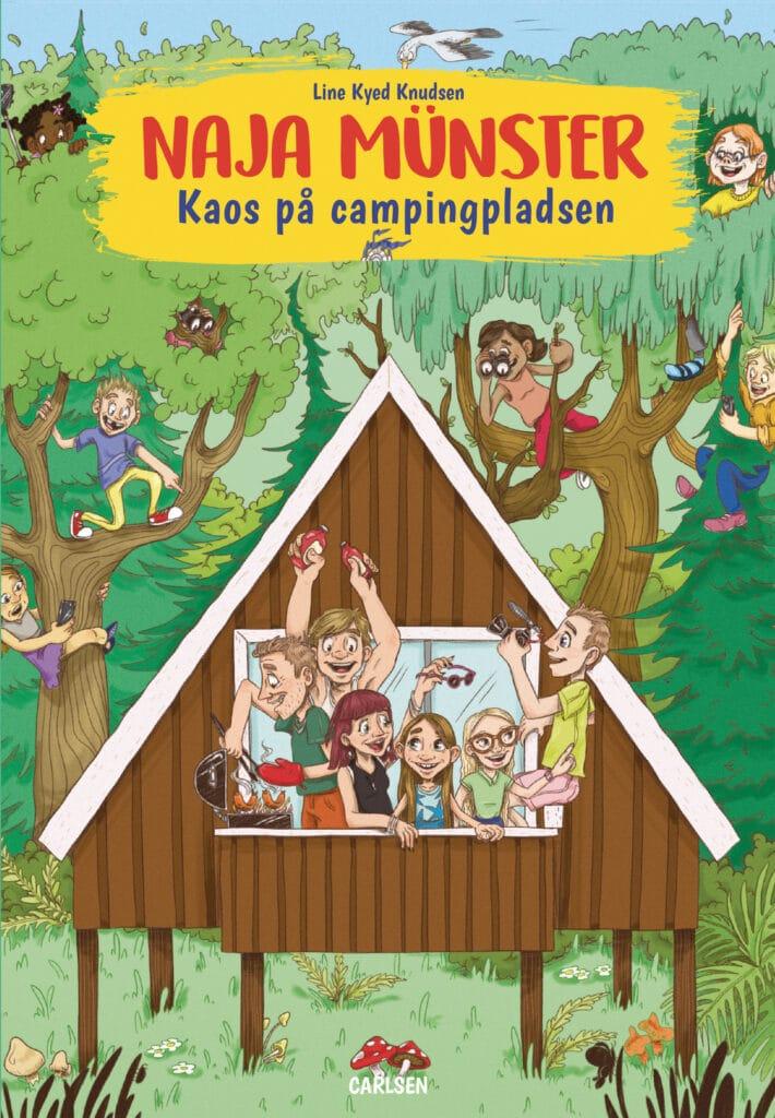 Line Kyed Knudsen, Naja Münster, Kaos på campingpladsen