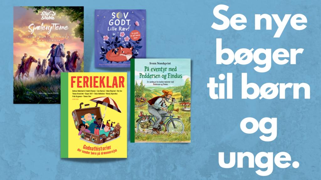 nye børnebøger, Bøger på vej, ungdomsbøger, Se bøger på vej