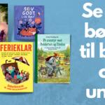 Se de nye børnebøger, der er på vej