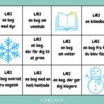 Carlsens læseudfordring. Læs løs med børnene i vinterferien!