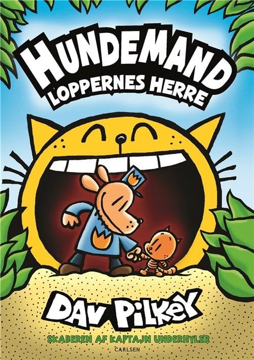 Hundemand, Loppernes herre, Dav Pilkey, børnebog med humor