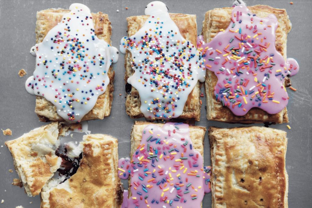 poptarts, Christel Pixi, Pixis kager, kager, amerikanske kager