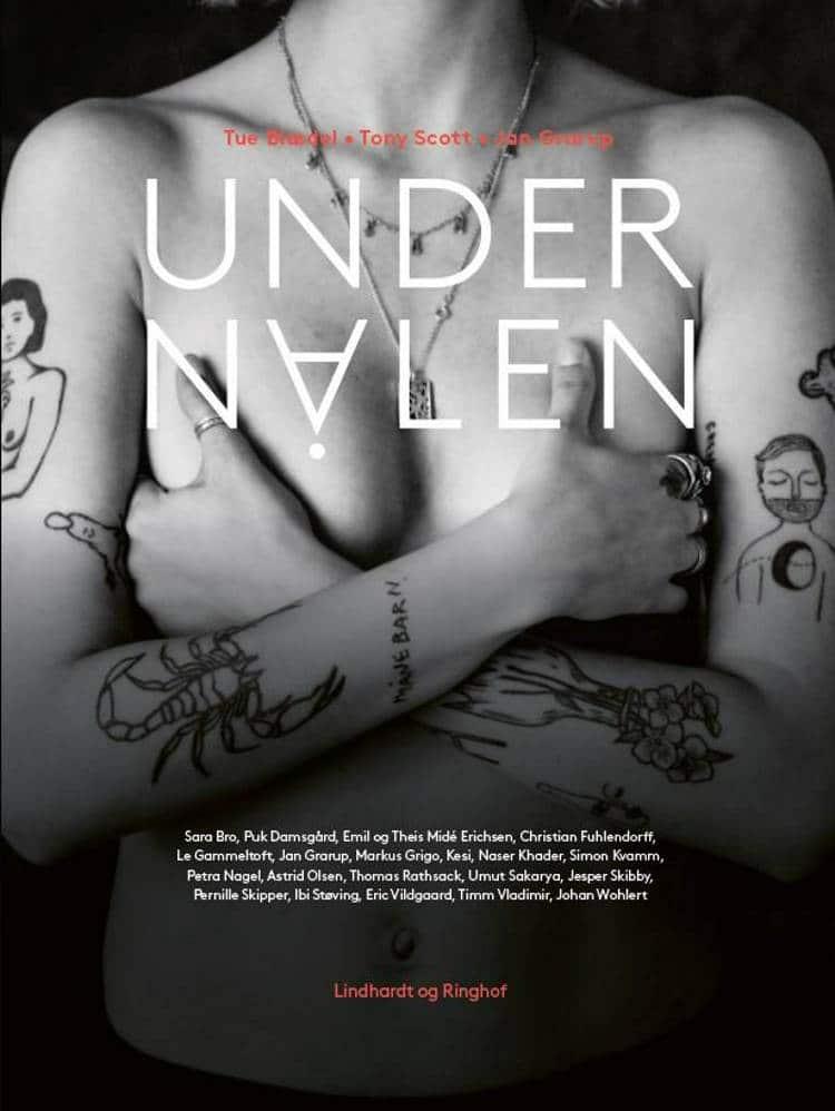 Under nålen, tatoveringsbog, bog om tatoveringer, Tue Glædet, Tony Scott