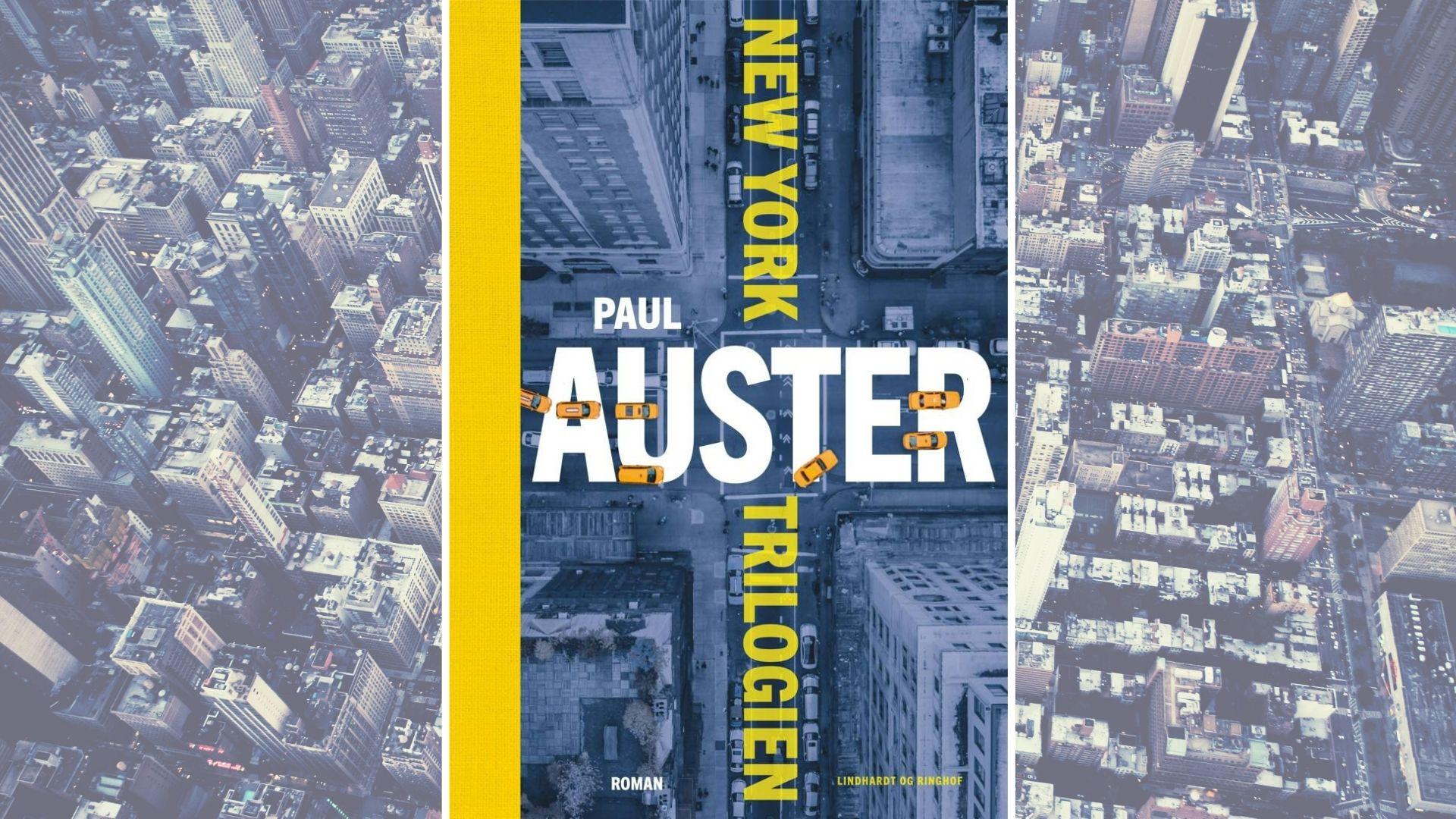paul auster, new york trilogien, by af glas, genfaerd, det aflaaste rum