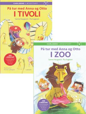 På tur med Anna og Otto, Carlsens Læsestart