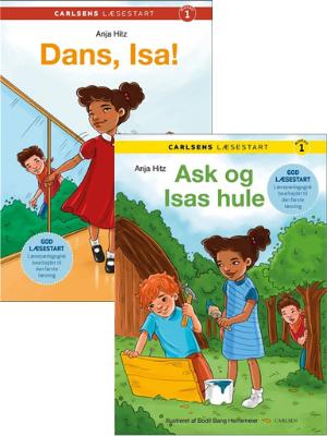 Ask og Isa, Ask og Isas hule, Carlsens Læsestart