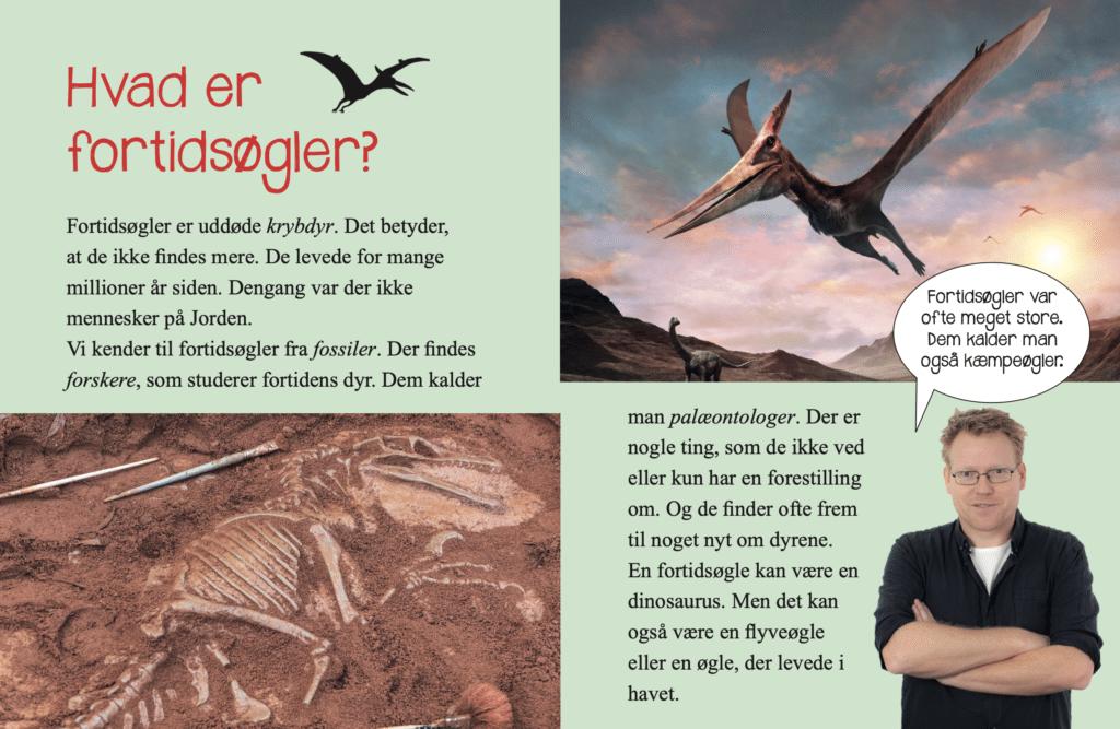 Læs med Sebastian Klein, Verdens farligste fortidsøgler, faglig letlæsning, fagbøger til børn