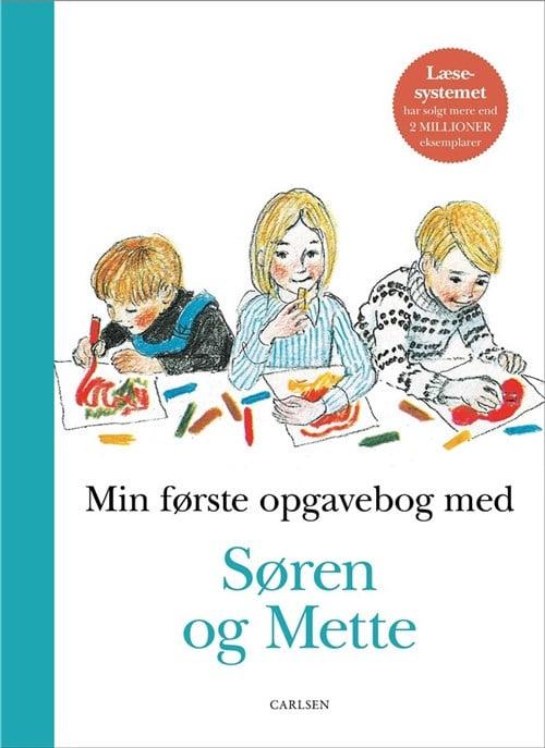 Søren og Mette, Min første opgavebog med Søren og Mette, letlæsning, læsestart