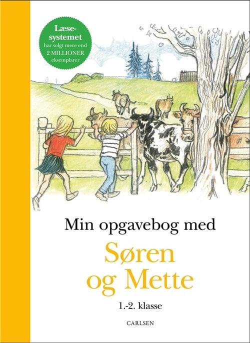 Søren og Mette, Min opgavebog med Søren og Mette, letlæsning, læsestart