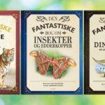 Flotte bøger om farlige dyr, dinosaurer og spændende insekter og edderkopper