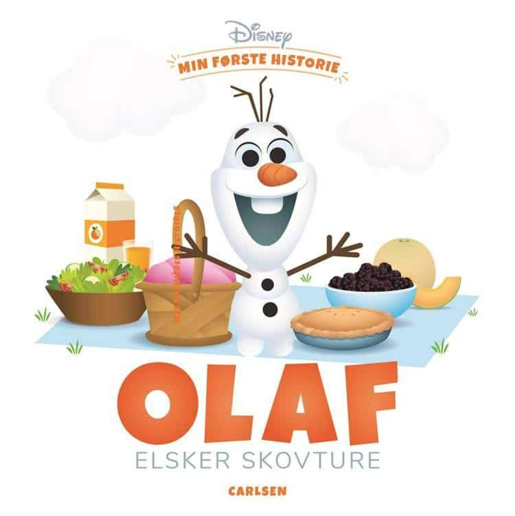 min første historie, Olaf, frost, bøger for de små, bøger for de mindste, bøger til baby, højtlæsning