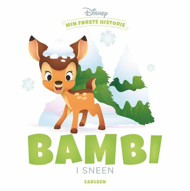 min første historie, Bambi, bøger for de små, bøger for de mindste, bøger til baby, højtlæsning