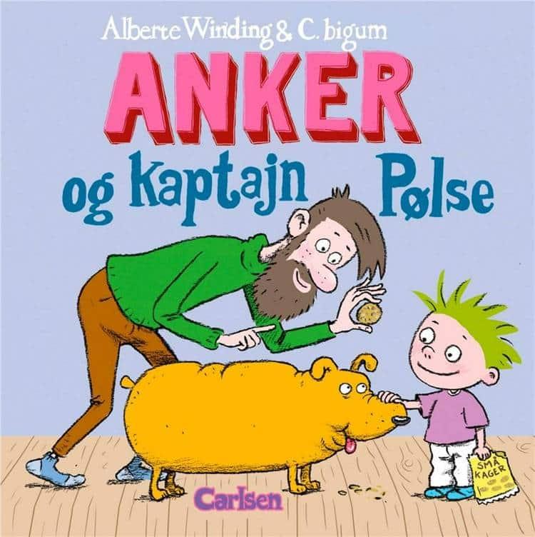 børnebøger til sommerferien, anker, Anker og kaptajn Pølse