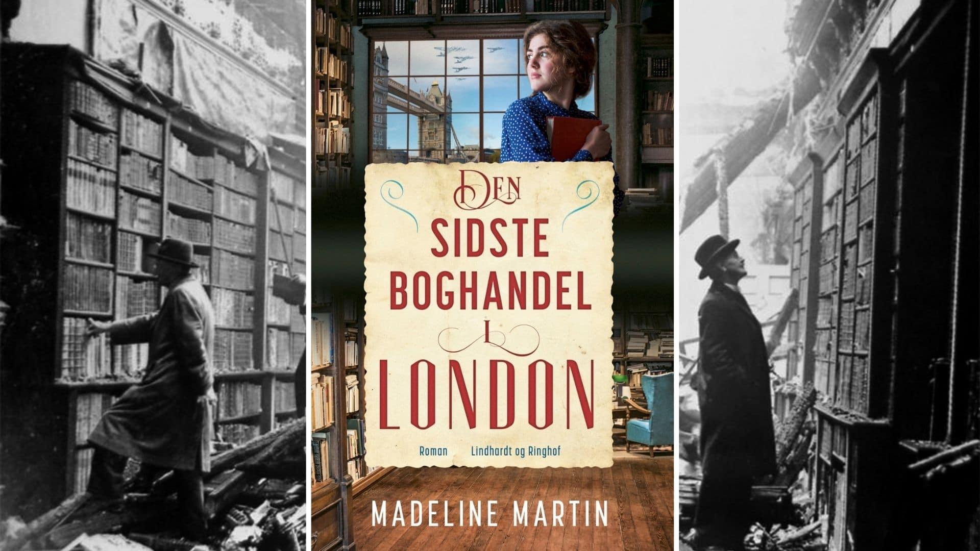 den sidste boghandel i london, madeline martin
