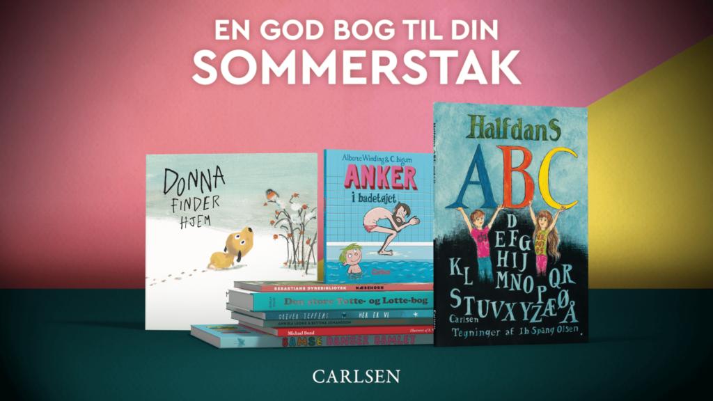 børnebøger til sommerferien