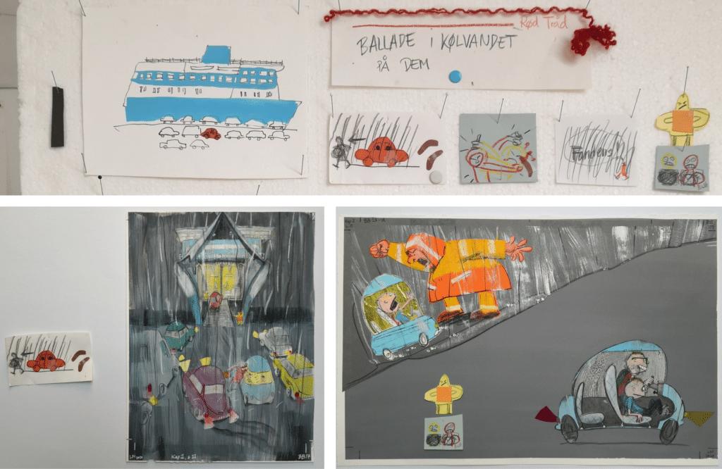 Lotte Nybo, Bertram og Buller, Ballade ombord, børnekrimi