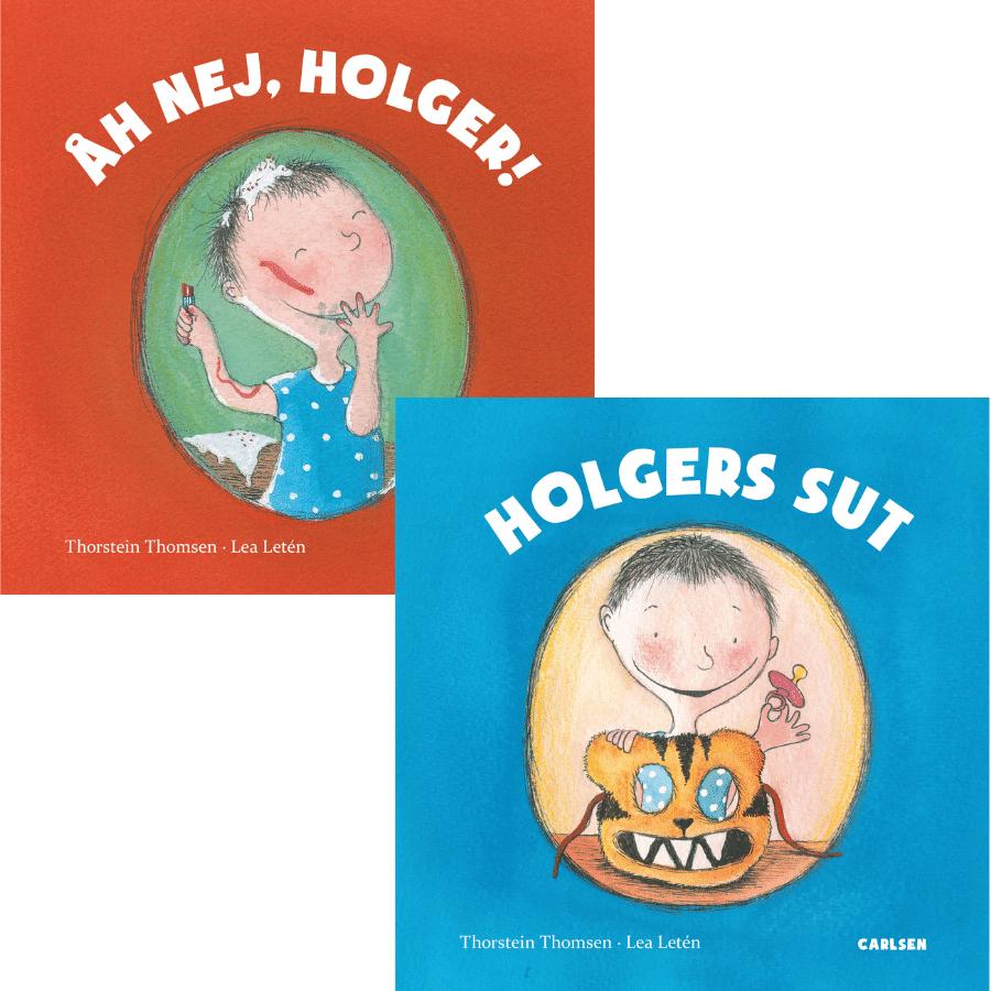 Åh nej, Holger!, Holgers sut