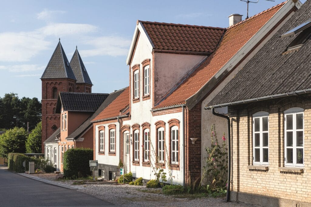 soren vadstrup, landhuset, byhuset, huse med sjael