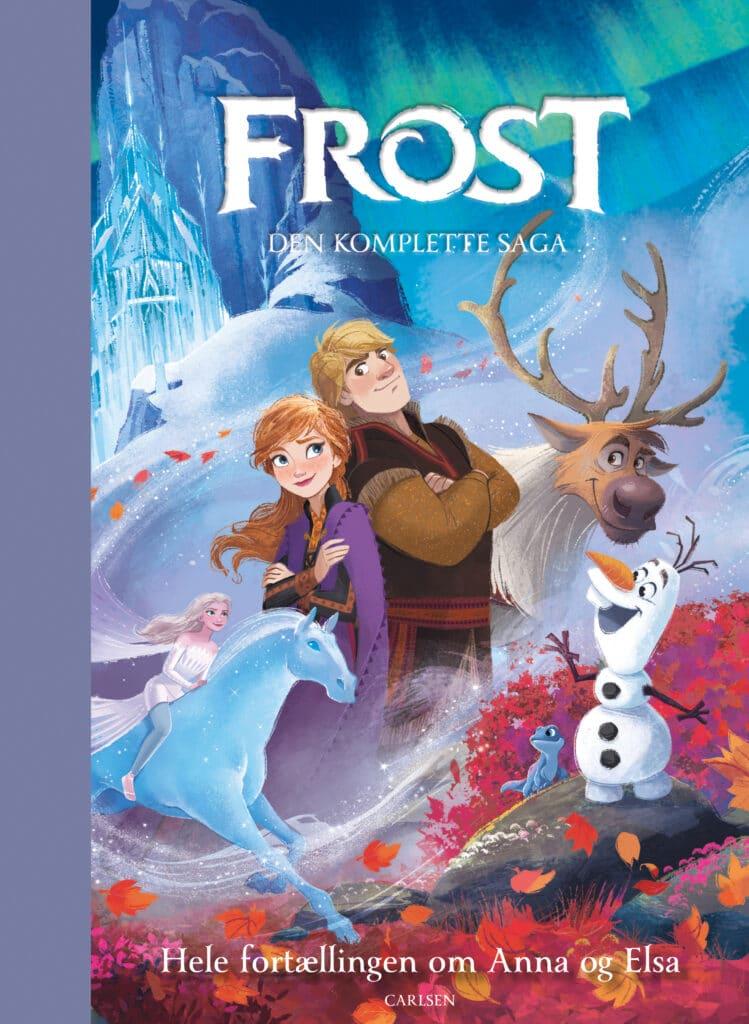 Frost - den komplette saga, disney, disney storybook